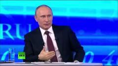 Большая пресс-конференция Путина от 18.12.2014