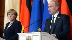 Пресс-конференция Владимира Путина и Ангелы Меркель от 11.01.2020