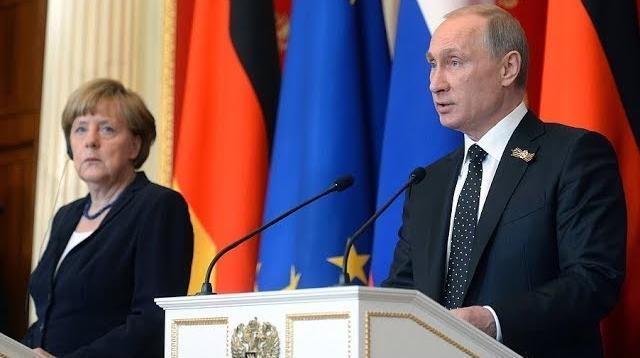YouTube - Пресс-конференция Владимира Путина и Ангелы Меркель от 11.01.2020