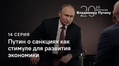 20 вопросов Владимиру Путину (14 серия): О санкциях как стимуле для развития экономики