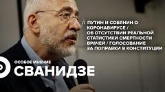 Особое мнение. Николай Сванидзе 22.05.2020