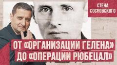 От «Организации Гелена» до «Операции РЮБЕЦАЛ». Стена Сосновского