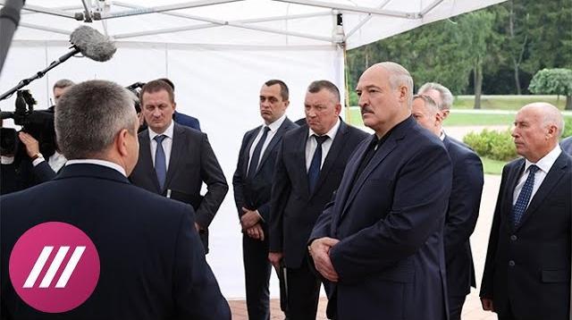 Телеканал Дождь 23.08.2020. «Возможно, Путин пообещал прикрыть его». Почему Лукашенко ведет себя все уверенней