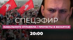 Дождь. Отравление Навального подтвердилось. Протесты в Беларуси. Спецэфир от 24.08.2020