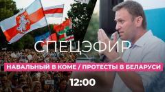 Дождь. Отравление Навального. Нашли сильнодействующий яд? Протесты в Беларуси от 21.08.2020