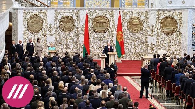 Телеканал Дождь 24.09.2020. На грани гражданской войны. Лукашенко вступил в должность президента. Что это меняет