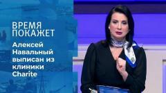 Время покажет. Навальный выписан из больницы от 23.09.2020