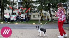 Дождь. Культура протеста: как «модный» Минск выступает против Лукашенко от 25.09.2020