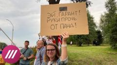 Дождь. Айтишники вышли на протесты из-за обысков в компании Микиты Микадо - PandaDoc от 03.09.2020