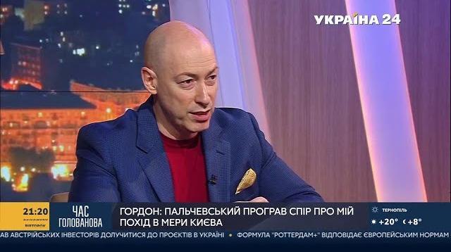 Дмитрий Гордон 17.09.2020. Я беспокоюсь за Пальчевского – мне кажется, у него проблемы с психикой