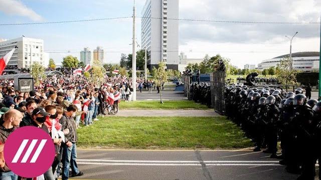 Телеканал Дождь 14.09.2020. Протесты в Беларуси не спадут до Рождества. Политолог о противостоянии общества и власти