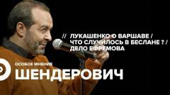 Особое мнение. Виктор Шендерович 03.09.2020