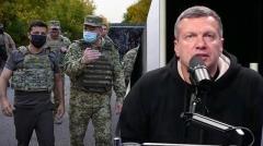 Сильнейшая речь! Соловьев попросил о помощи Донбассу в прямом эфире