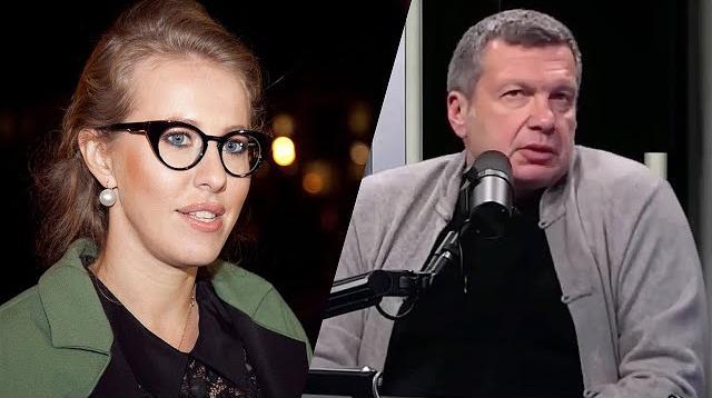 Соловьёв LIVE 28.10.2020. Резкое высказывание о Собчак: Ваши слова не бьются с вашими делами