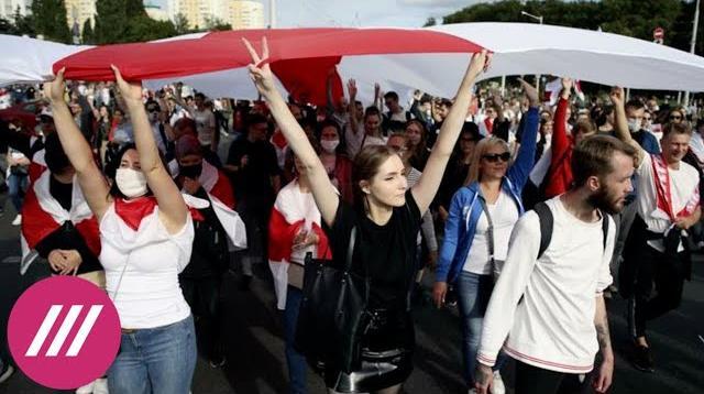 Телеканал Дождь 28.10.2020. В Беларуси массово отчисляют студентов за участие в акциях протеста