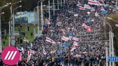 «Партизанский марш» в Беларуси: спецтехника в Минске, перебои с интернетом, задержания