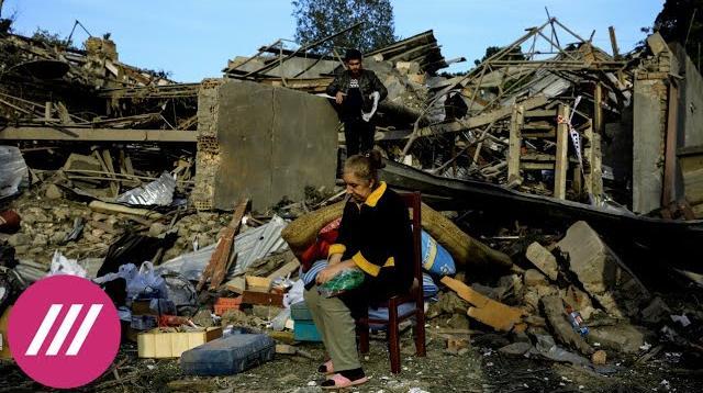 Телеканал Дождь 14.10.2020. Война в Нагорном Карабахе: перемирия нет, бои не прекращаются