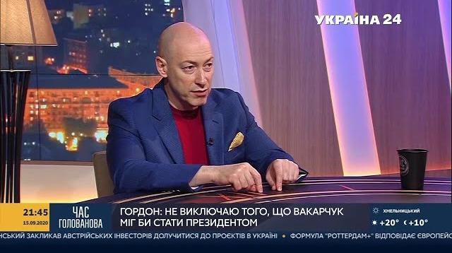 Дмитрий Гордон 28.10.2020. Богдан – очень умный и системный человек, который абсолютно не умеет себя вести