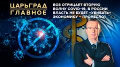 Царьград. Главное. ВОЗ отрицает вторую волну COVID-19. В России власть не будет «убивать» экономику – пронесло 13.10.2020
