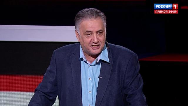 Вечер с Владимиром Соловьевым 01.10.2020. Багдасаров: В Нагорном Карабахе воюют террористы