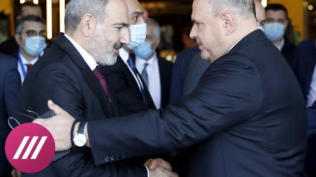 Телеканал Дождь 10.10.2020. Поможет ли Москва закончить войну в Карабахе? Мнения армянской и азербайджанской стороны