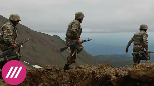 Телеканал Дождь 10.10.2020. В Карабахе объявили перемирие и тут же его нарушили. Как реагируют в Армении и Азербайджане