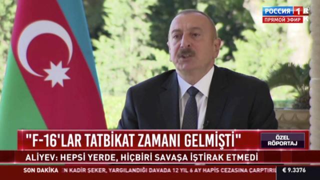 60 минут по горячим следам 14.10.2020. Ильхам Алиев: турецкие военнослужащие не участвуют в боевых действиях в Карабахе