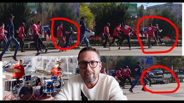 Анатолий Шарий 23.10.2020. Бег наци-спортсменов