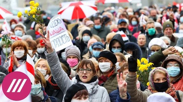 Телеканал Дождь 11.11.2020. Три месяца протестов в Беларуси. Почему Лукашенко удаётся удержать власть