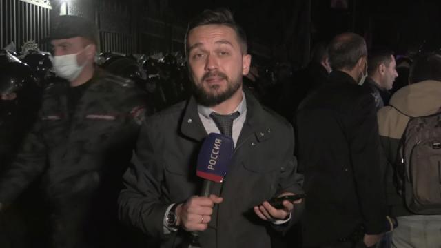 Видео 12.11.2020. 60 минут. Протестующие в Ереване не разойдутся, пока Пашинян не уйдет в отставку