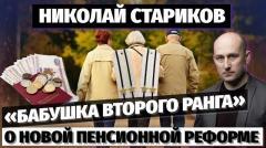 Николай Стариков. «Бабушка второго ранга» – о новой пенсионной реформе от 02.11.2020