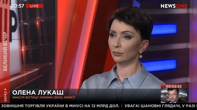 Большой вечер 05.11.2020. Елена Лукаш