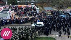 Как проходило задержание у мемориала Роману Бондаренко