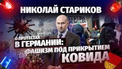 Николай Стариков о протестах в Германии: фашизм под прикрытием ковида