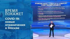 Время покажет. До 15 января: новые ограничения в Москве
