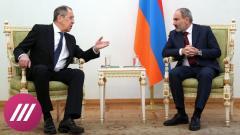 Дождь. Миротворцы в Карабахе останутся надолго. Зачем Лавров и Шойгу встретились с чиновниками в Ереване от 21.11.2020