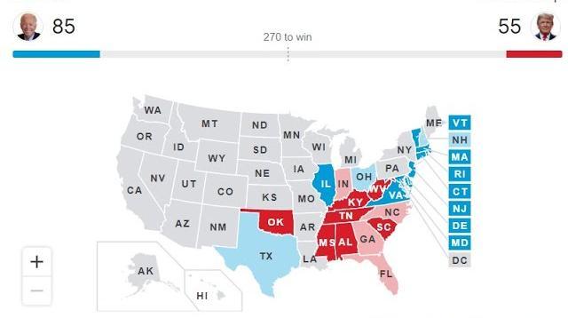 Соловьёв LIVE 04.11.2020. ПЕРВЫЕ результаты выборов президента США: БАЙДЕН впереди