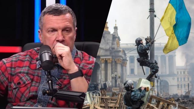 Соловьёв LIVE 24.11.2020. Украинцы вступили в режим саморазрушения! Соловьев резко о событиях на Майдане