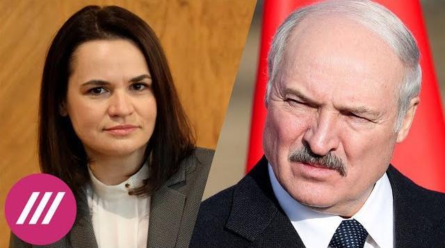 Телеканал Дождь 13.11.2020. Захват и арест Лукашенко является законным. Пресс-секретарь Тихановской о «народном трибунале»