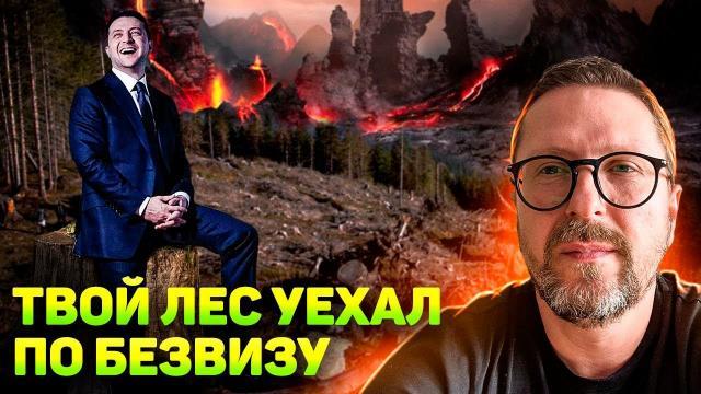 Анатолий Шарий 17.12.2020. Зеля отправил карпатский лес по безвизу