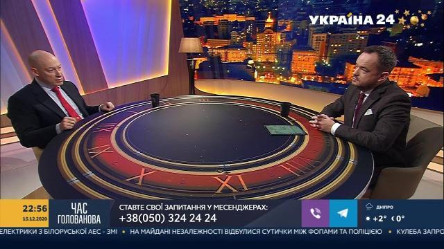 Дмитрий Гордон 20.12.2020. Поссорился с Головановым из-за торговли с Россией