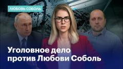 Уголовное дело против Любови Соболь. Первый комментарий после освобождения