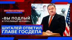 Политическая Россия. Вы подлый и трусливый человек: россиянин ответил главе Госдепа США от 29.12.2020