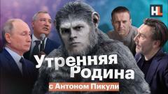 Навальный LIVE. Ответ Путина. Рогозин назвал обезьяной. «Утренняя Родина» с Антоном Пикули от 20.12.2020