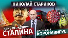Николай Стариков. День рождения Сталина и британский коронавирус от 22.12.2020