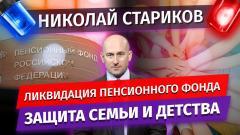 Николай Стариков. Ликвидация пенсионного фонда, защита семьи и детства от 05.01.2021