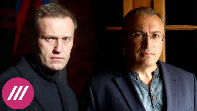 Телеканал Дождь 22.01.2021. Место Путина проклято: Ходорковский о билете в один конец для Навального и переменах в Кремле