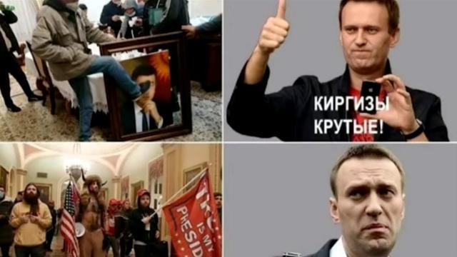 Соловьёв LIVE 11.01.2021. Навальный и вся «тусовка» ФБК напряглись! Витязева о реакции оппозиции в России на события в США