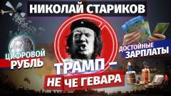 Николай Стариков. Трамп – не Че Гевара, цифровой рубль и достойные зарплаты от 11.01.2021
