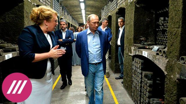Телеканал Дождь 20.01.2021. «Вино Путина»: что известно о винодельне из расследования Навального